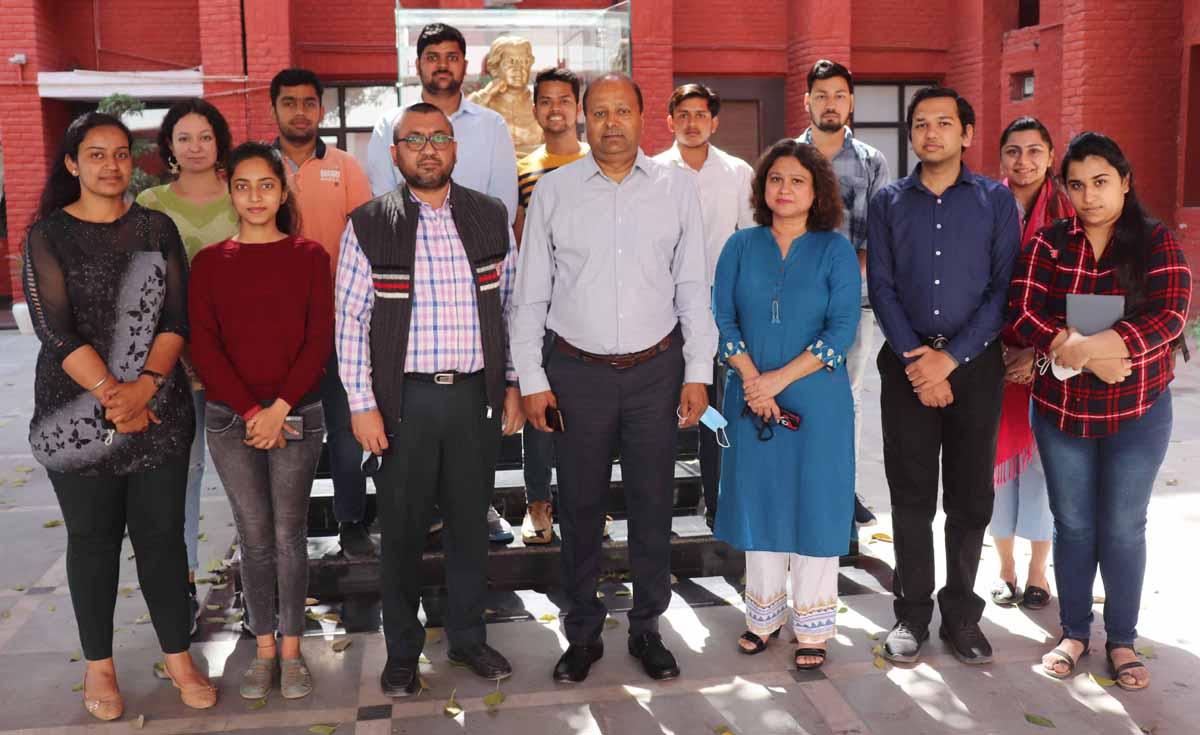 जे.सी. बोस विश्वविद्यालय में नई छात्र परिषद का गठन