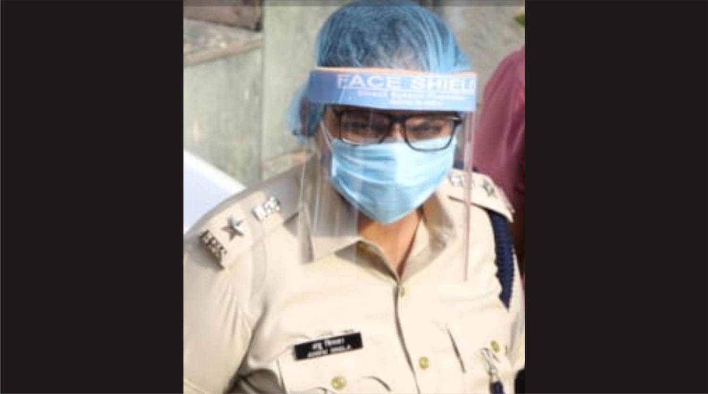 डीसीपी डॉ. अंशु सिंगला ने उठाया कोरोना संक्रमित पुलिसकर्मियों को योगा के माध्यम से ठीक करने का बीड़ा