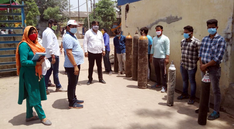 फरीदाबाद ज़िला में मंगलवार को 220 लोगों को उपलब्ध करवाई ऑक्सीजन : यशपाल