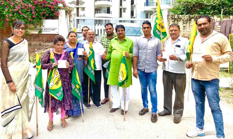 जजपा पार्टी कर्मठ, मेहनती युवाओं को जोडक़र संगठन को मजबूत करना चाहती है : उमेश भाटी
